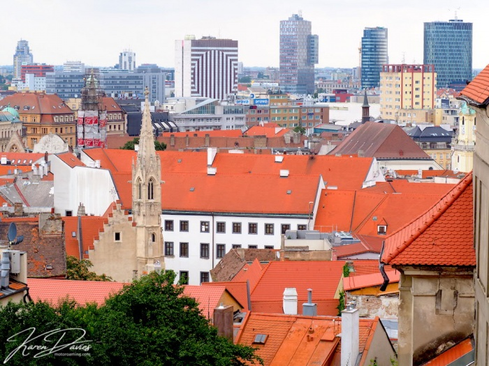 Bratislava from the rooftops, Bratislava, Slovakia