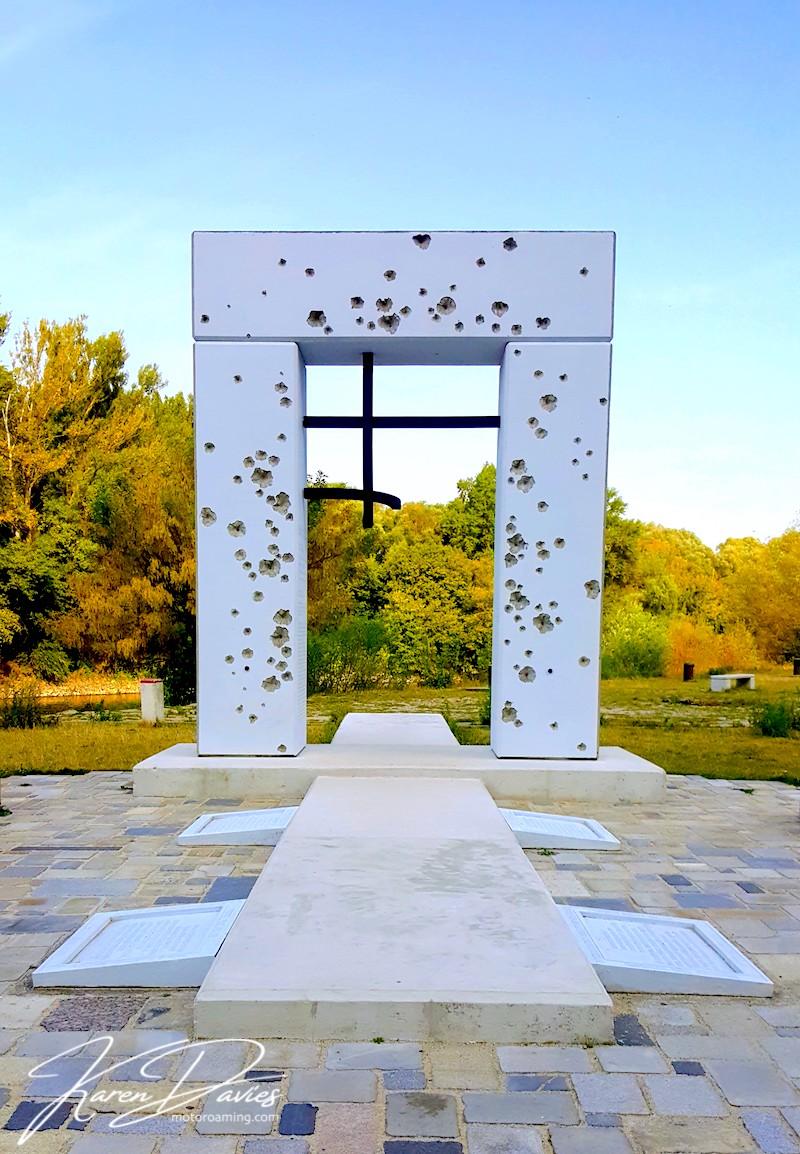 Iron Curtain memorial Devin