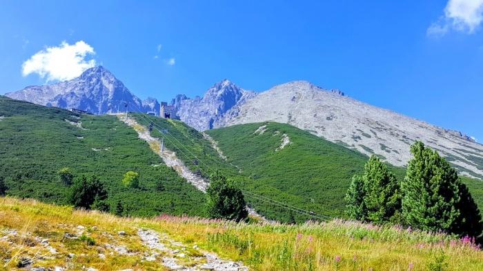 Lomnicky peak hike, Lomnica, Slovakia