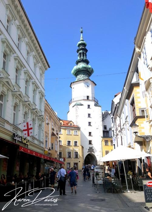 Michael's Gate Fortress Bratislava, Slovakia