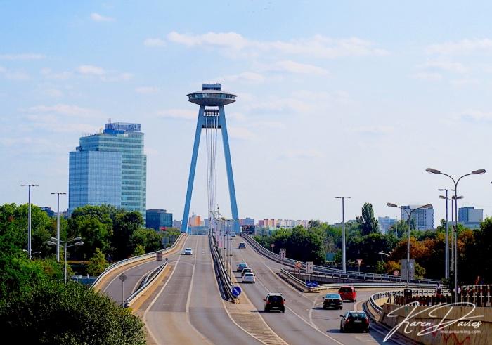 Most SNP Bridge, Bratislava, Slovakia
