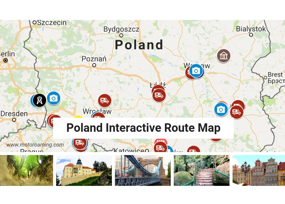 Poland Interactive Map