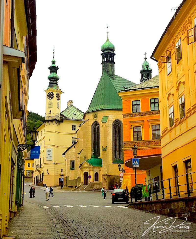 Banksa Striavnica main street