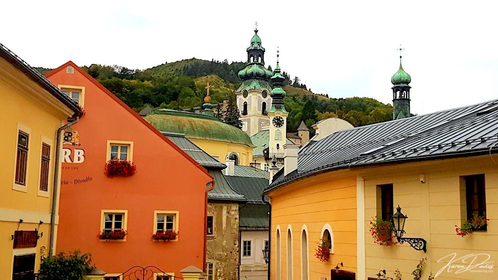 Banksa Striavnica view, Slovakia