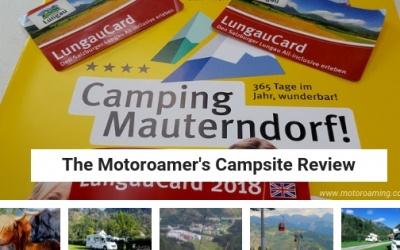 Camping Mauterndorf, Austria