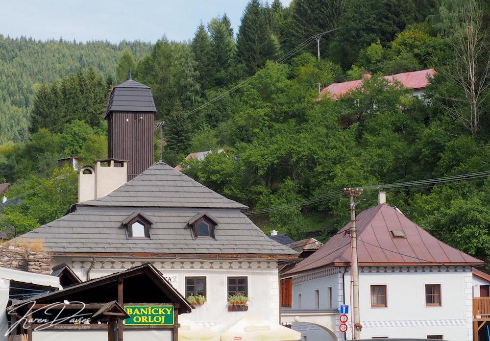 Spania Dolina Mining village, Slovakia