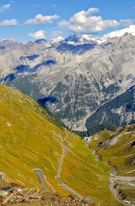 Stelvio view point, Italy
