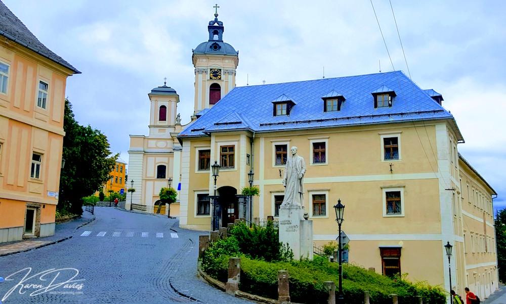 Banksa Striavnica Town Hall, Slovakia
