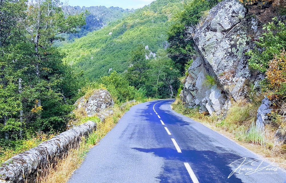 Cevennes Road, France