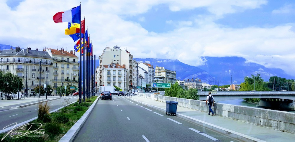 Grenoble's dynamic culture and winter sports Mecca, France