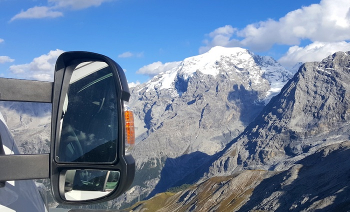 Our View for the night, Stelvio pass, Italy