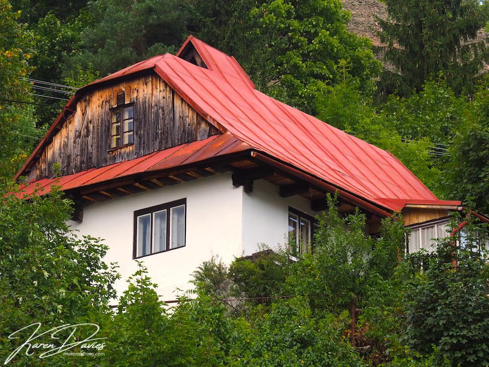 Spania Dolina Mining village