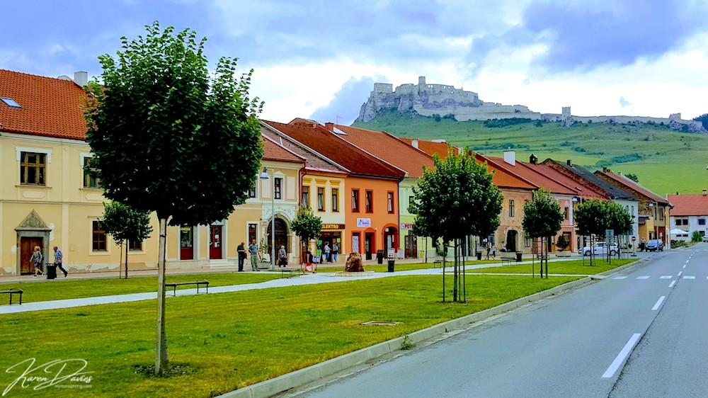Spisske Podhradie castle view, Slovakia