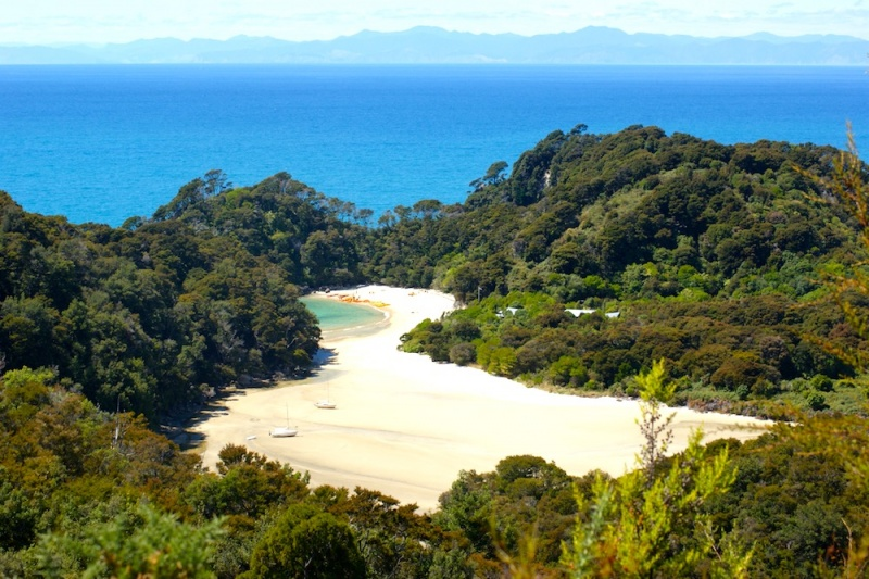 Abel Tasman Beaches, New Zealand