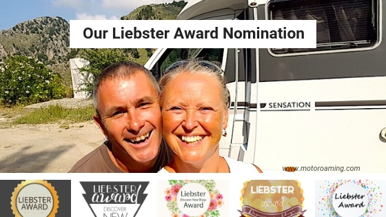 Our Liebster Award Nomination