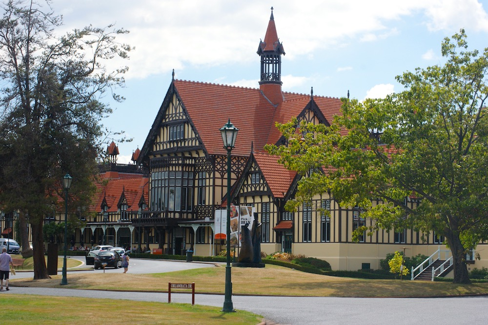 Maori Meeting House Rotorua