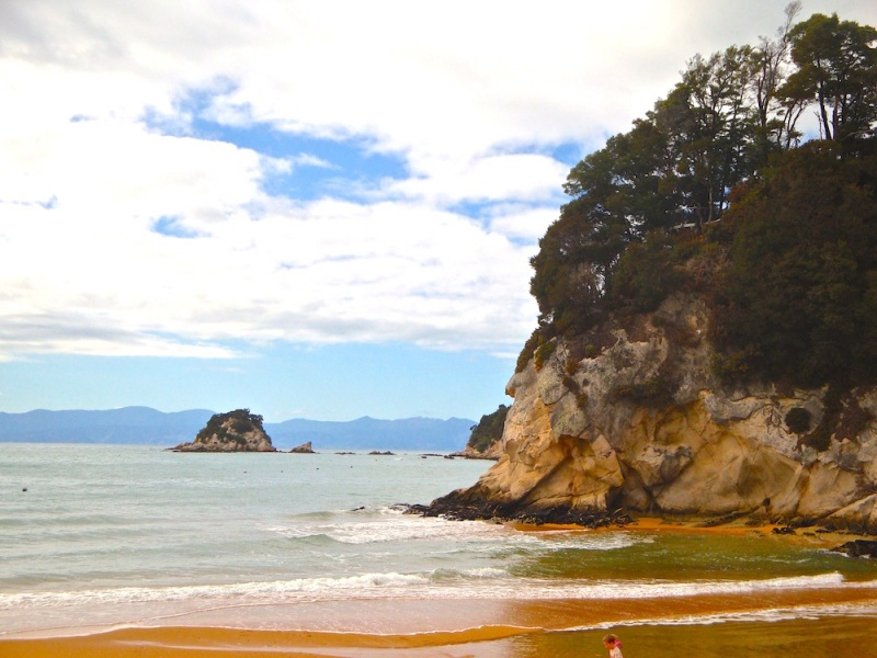 Abel tasman beach, New Zealand