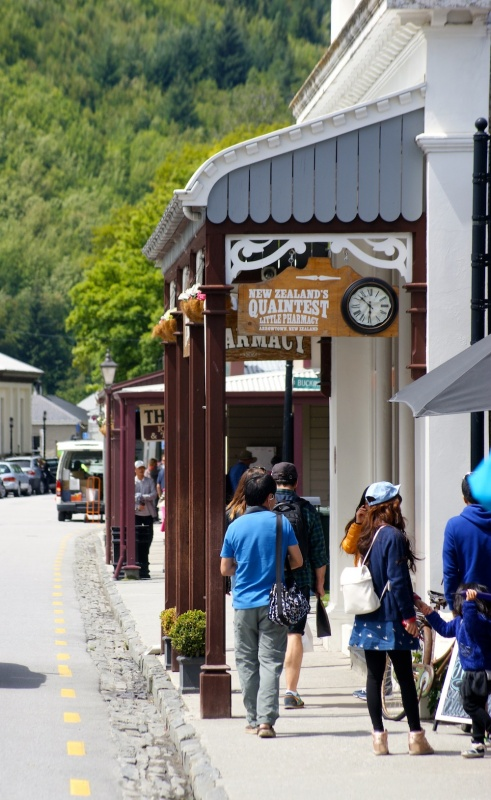 Arrowtown, Queenstown suburb, New Zealand