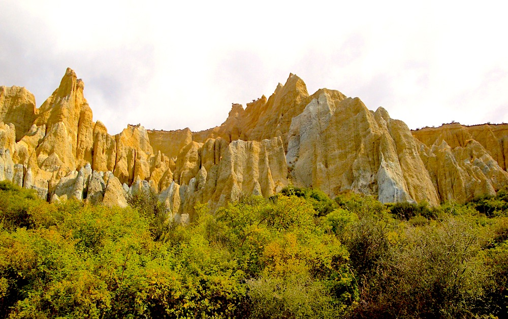 Clay Cliffs of Omarama