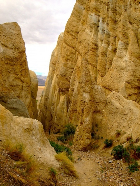 Clay Cliffs of Omarama, New Zealand