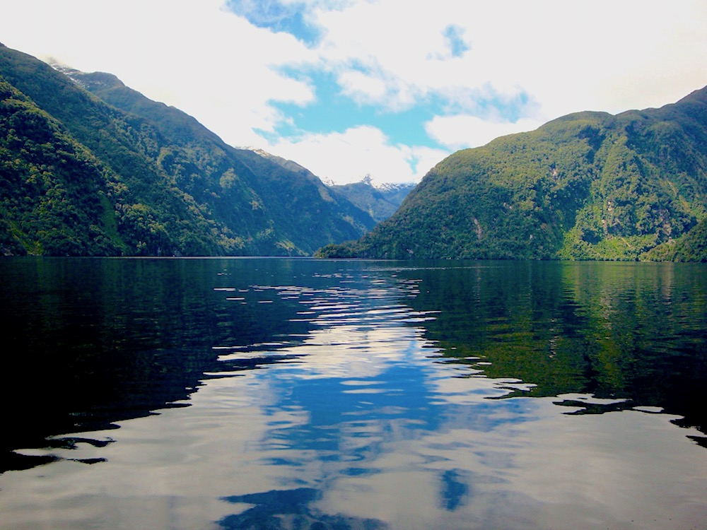 Doubtful Sound cruise view