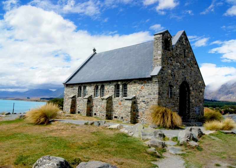 The House of the Good Shepherd, Lake Tekapo, New Zealand