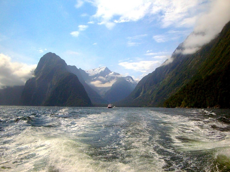 Milford Cruise, Milford Sound, New Zealand