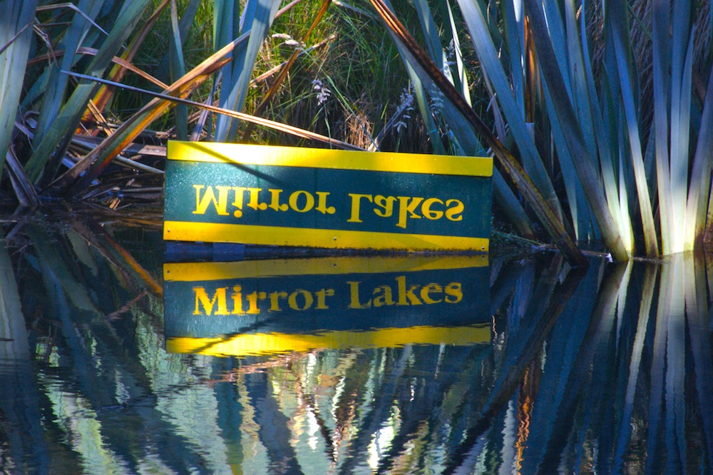 Milford Route, Mirrored Lakes
