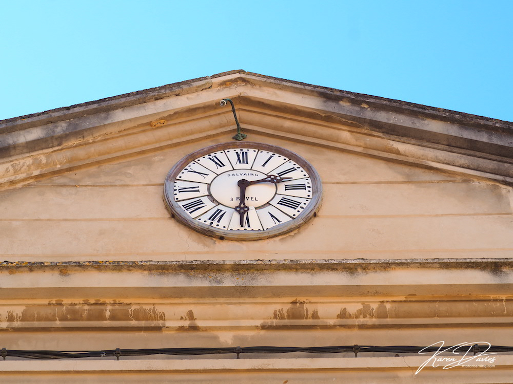 Revel ancient clock, Midi-Pyrenees