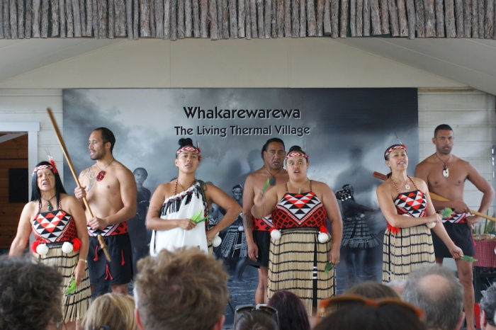Maori Haka Dance, Whakarewarewa, New Zealand