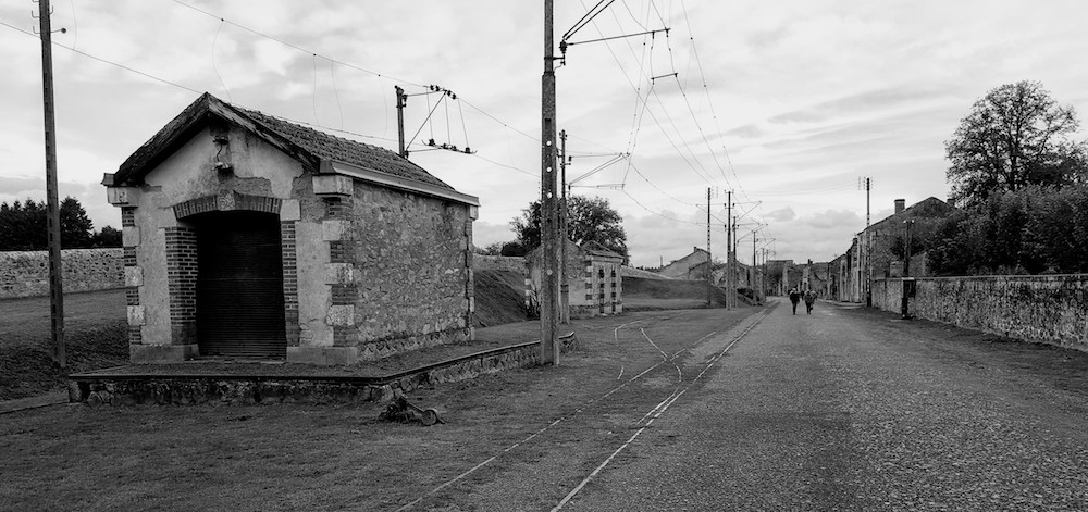 Oradour station, Oradour sur Glane, France