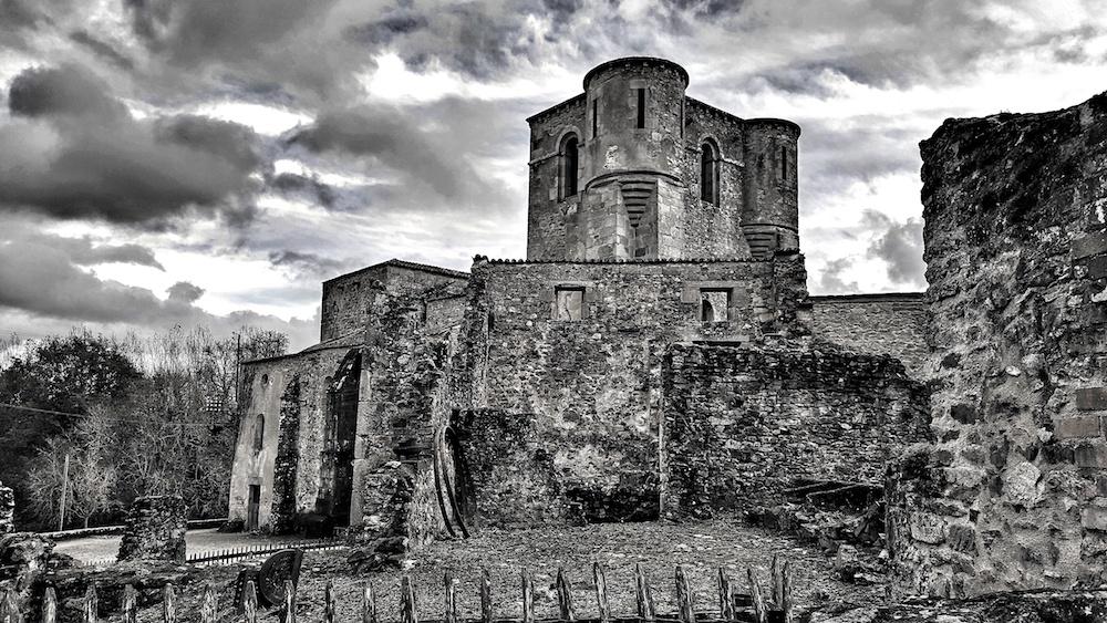 Oradour church where women and children were burnt alive