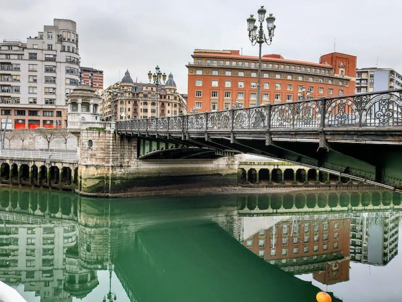 Bilbao riverside, Bilbao, Spain