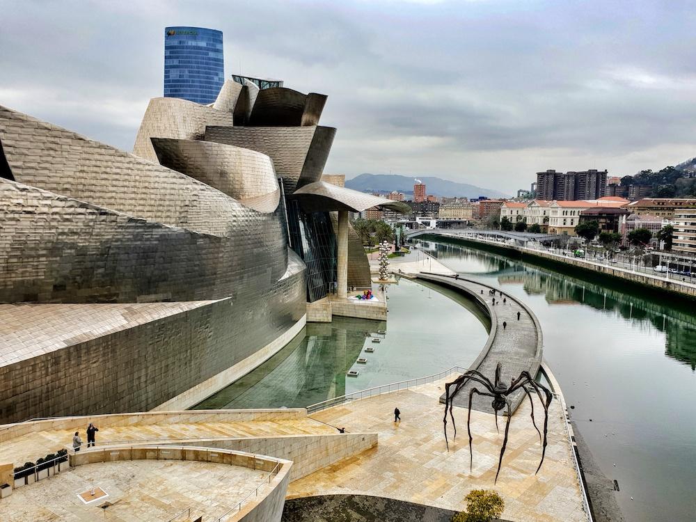 Guggenheim museum view