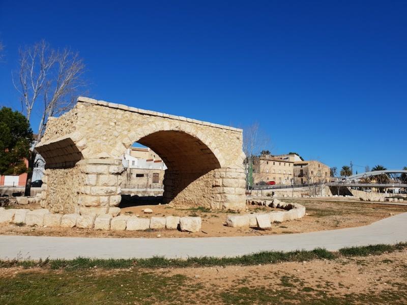 Beniarleig bridge,Spain