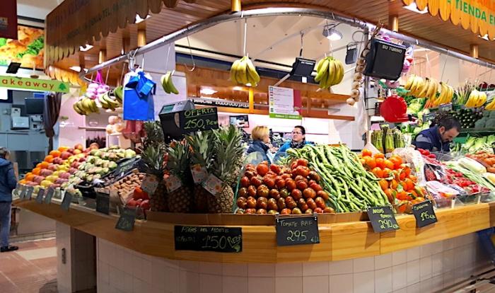 Denia indoor market, Denia, Spain