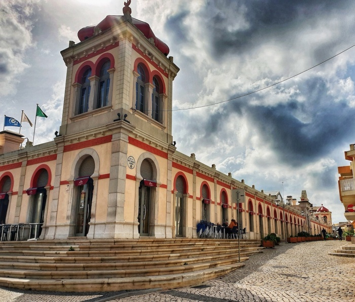 Loule's iconic indoor market,Portugal