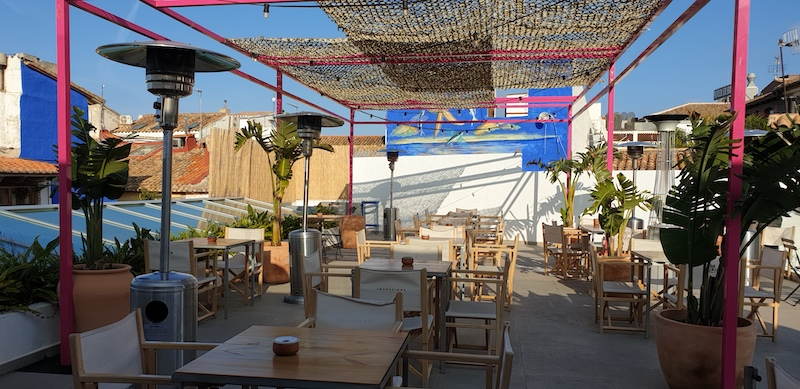 Magazinos terrace denia
