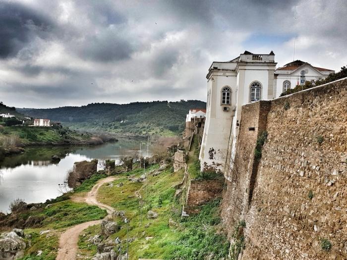 mertola castle walls,Portugal