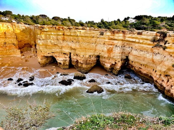 Albandeira cove, Portugal