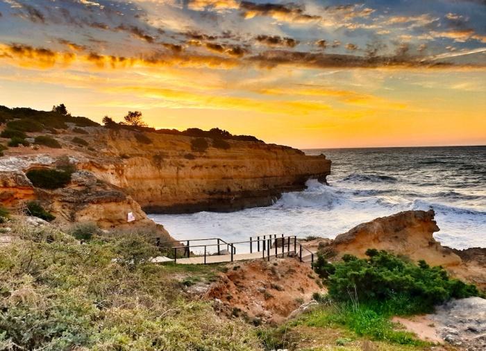 Albandeira sunrise Portugal