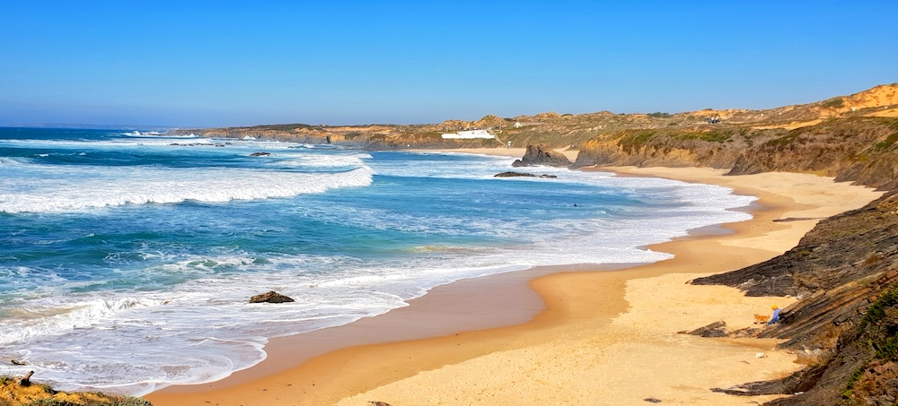 Almograve beach wild west,Portugal
