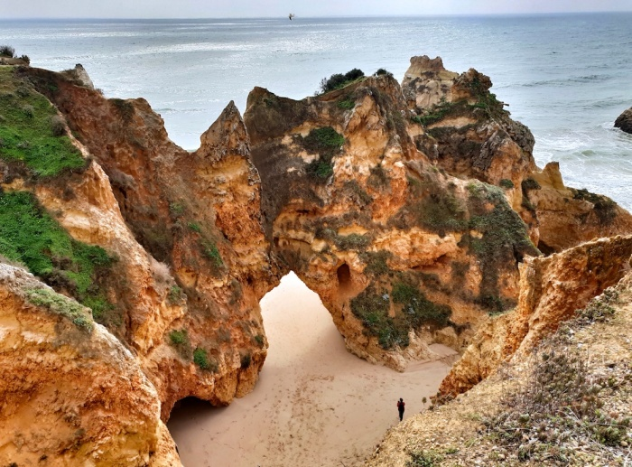 Alvor cliffs, Portugal