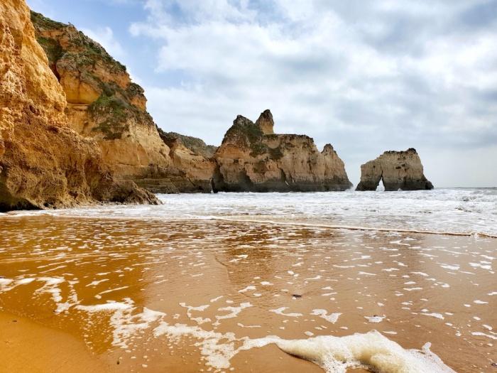 Alvor secret beach, Portugal