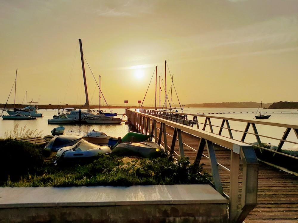Alvor sunset, Portugal