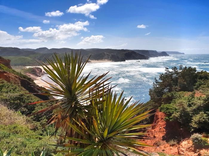 Amoda beach, west coast,Portugal
