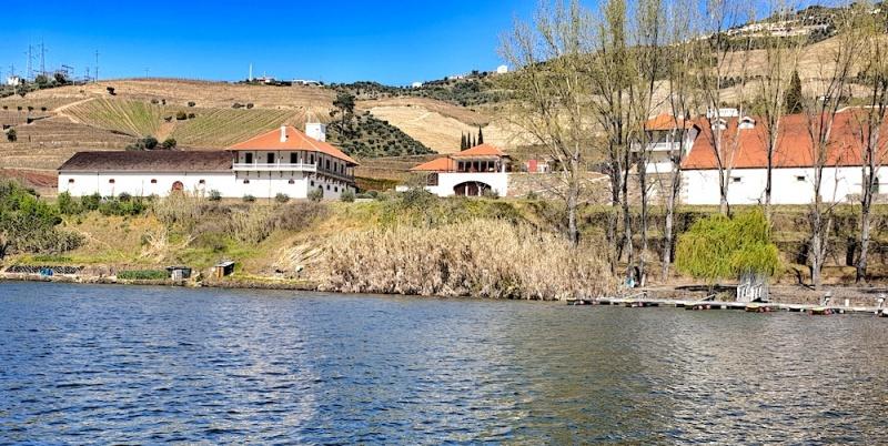 Bomfim from the river, Pinhão,Portugal