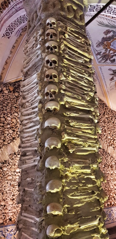Chapel of Bones, Evora,Portugal