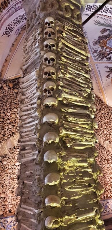 Chapel of Bones, Evora,Portugal