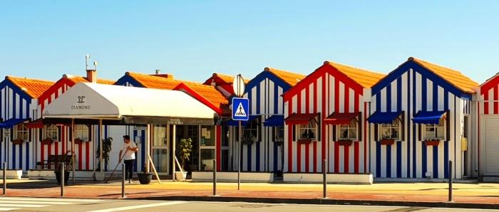 Costa Nova beach huts, Portugal